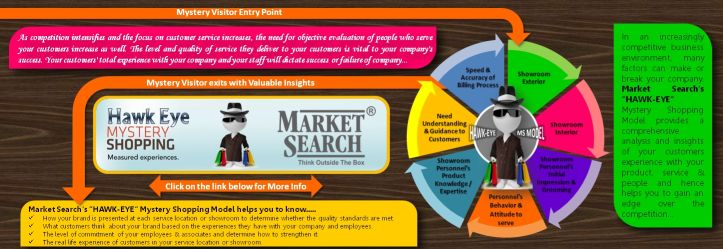 Market Search's Mystery Shopping Model